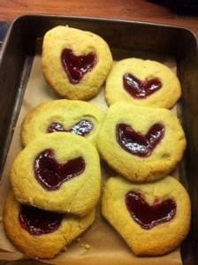 Jammy hearts