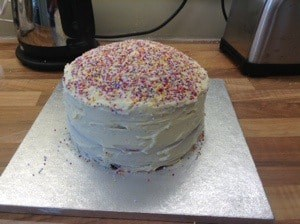 Sneak peek at Iona's sixth birthday cake