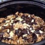 Slow Cooker Chocolate Waffle Pudding by BakingQueen74