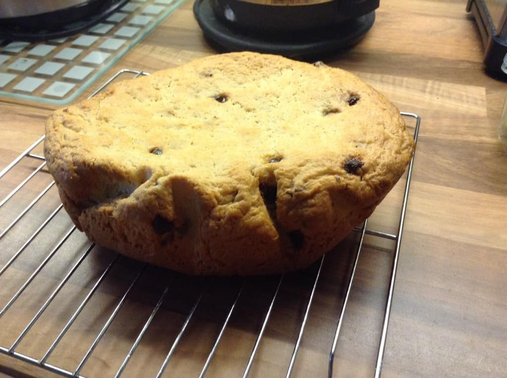 Slow Cooker Chocolate Chip Brioche