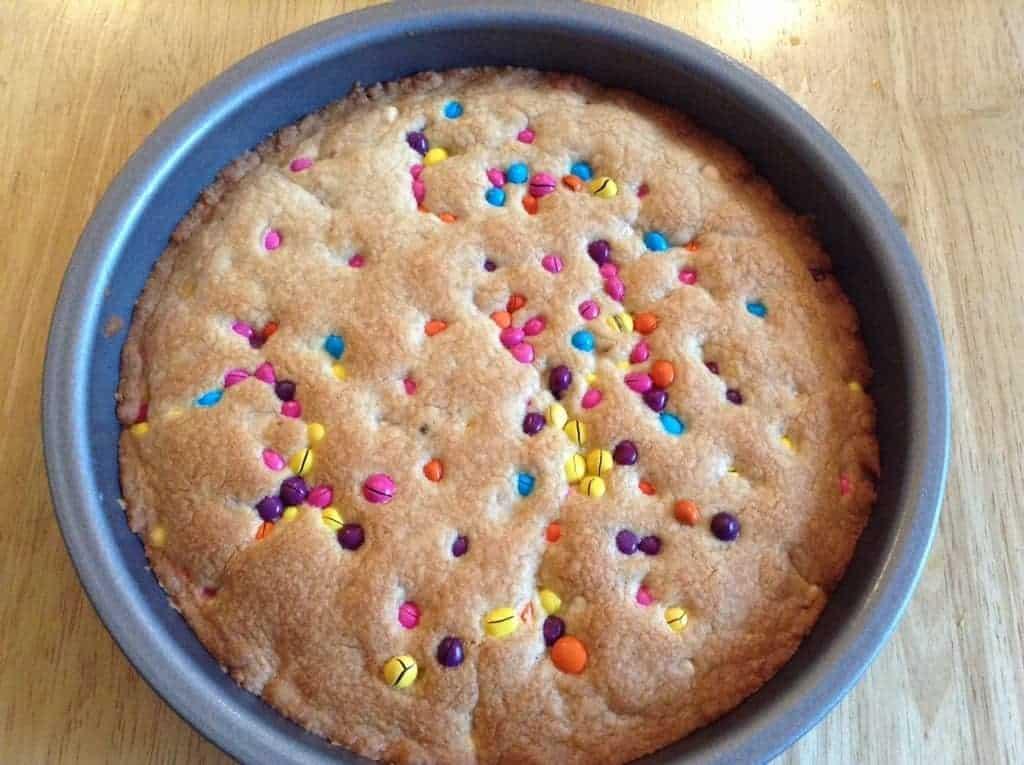 Chocolate bean cookie