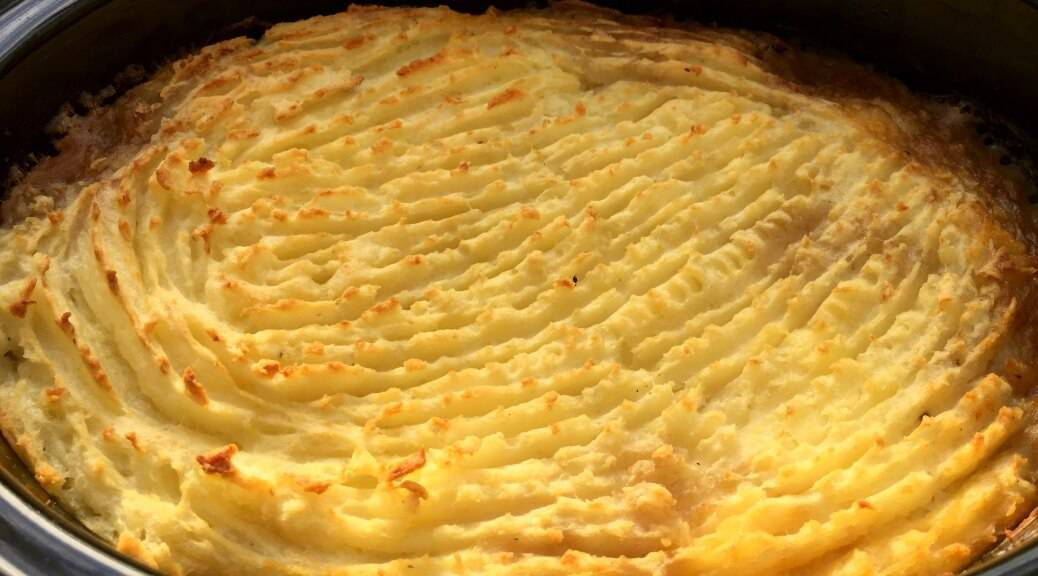 Slow cooker shepherd's pie recipe