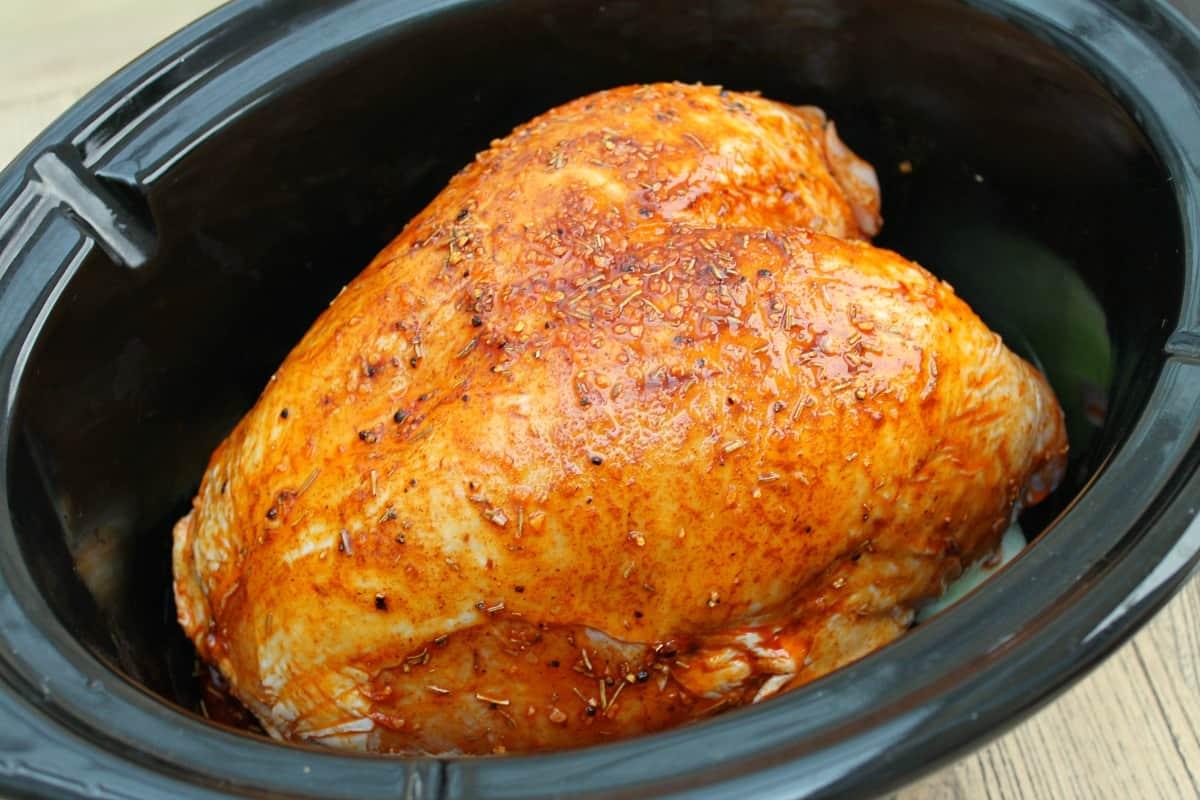 Slow Cooker Turkey Crown - BakingQueen74