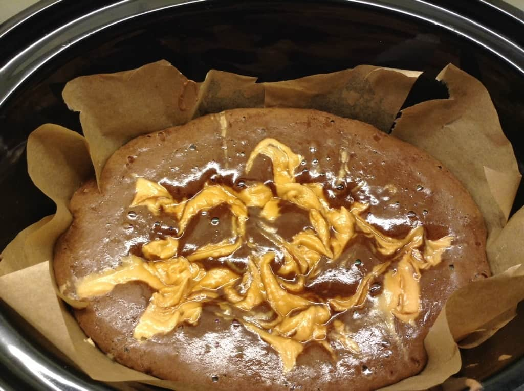 Slow Cooker Peanut Swirl Brownies by BakingQueen74