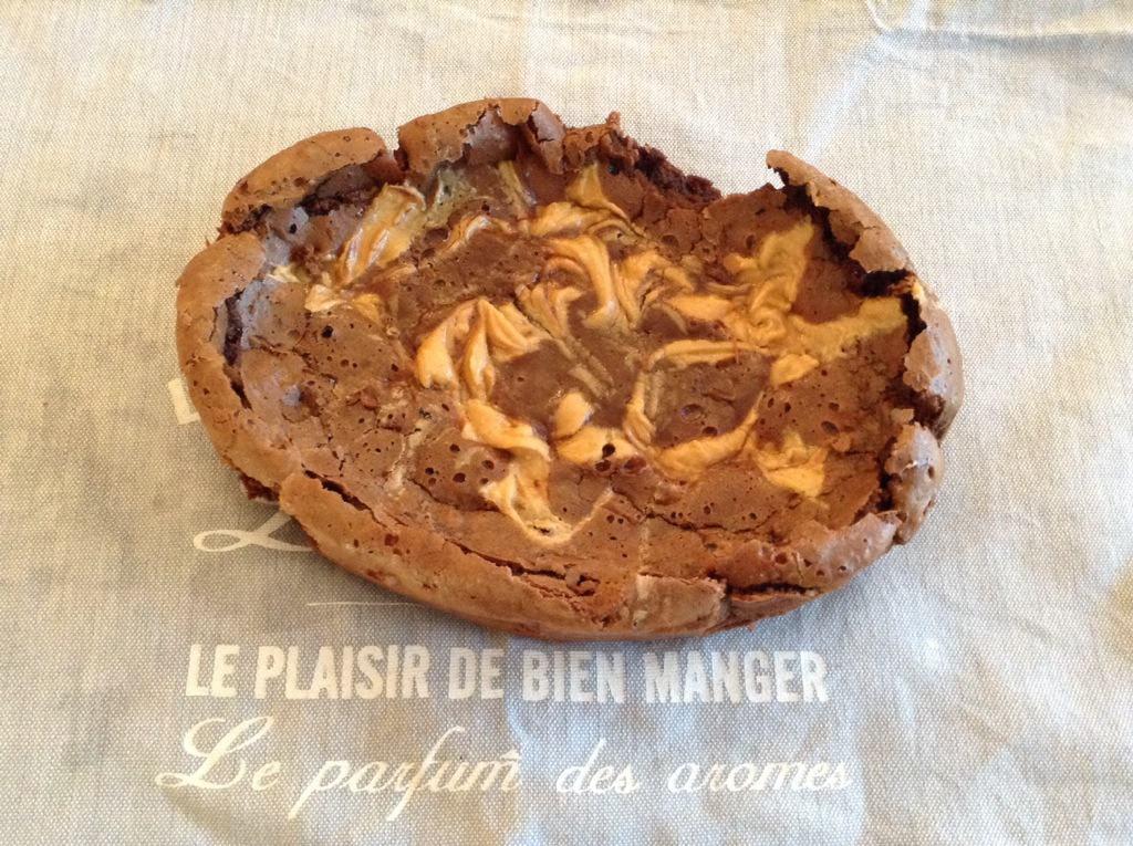 Slow Cooker Peanut Swirl Brownies by BakingQueen74