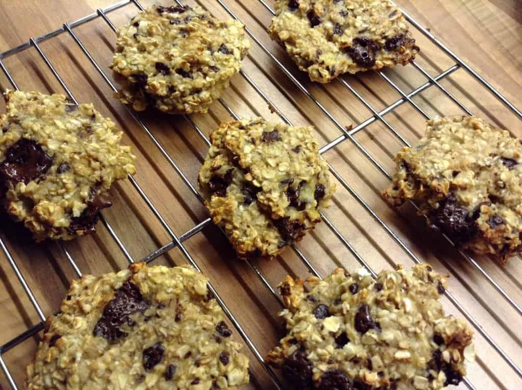 Banana oat chocolate chunk cookies by BakingQueen74