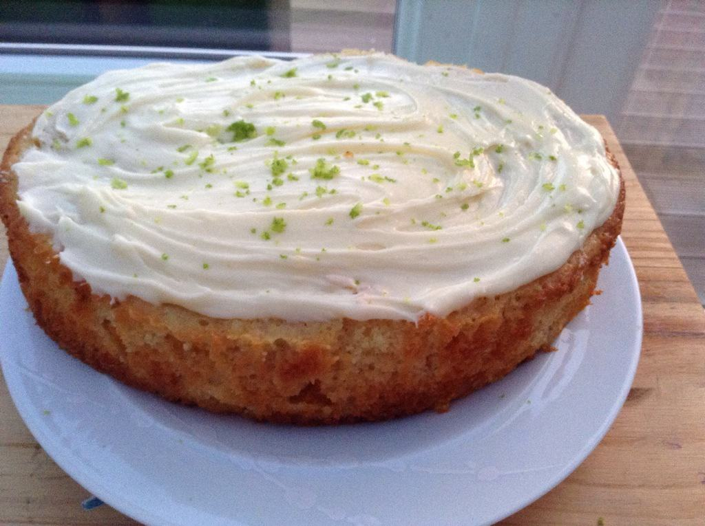 Slow Cooker Mango and Lime Cake by BakingQueen74