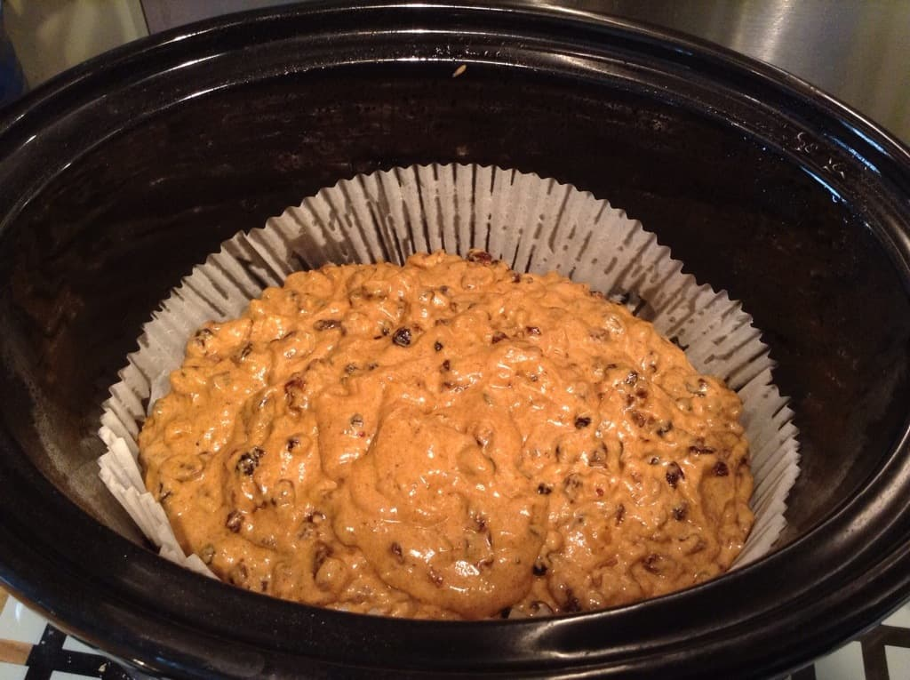 Slow Cooker Tea Loaf