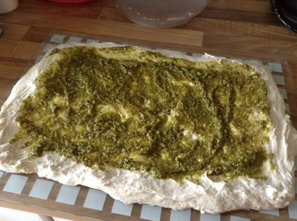 Slow Cooker Pesto Twist Loaf