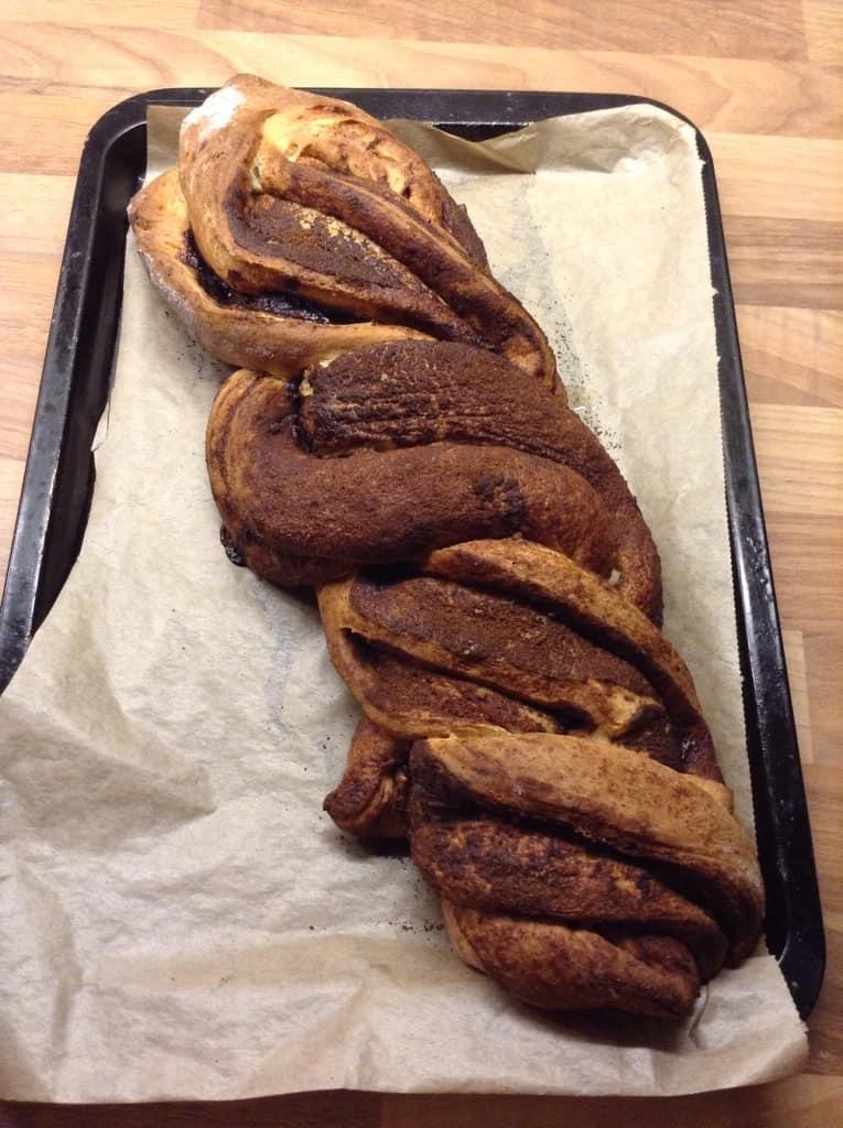 Cinnamon Chocolate Braid