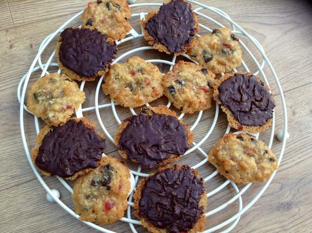 Fruity Coconut Florentines