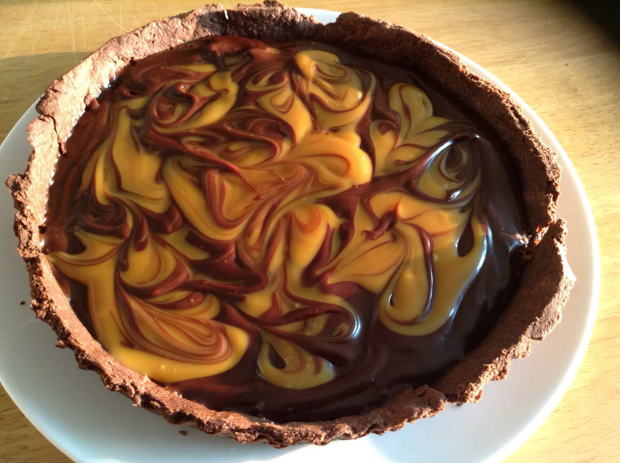 tarts chocolate and salted caramel tart bakingqueen74 september 6 2014 ...