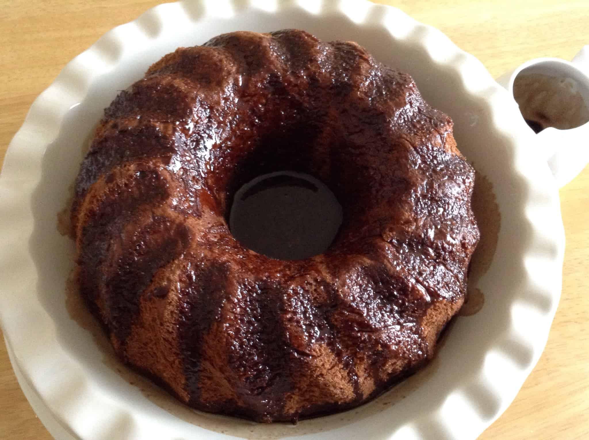 Chocolate Savarin Cake Recipe