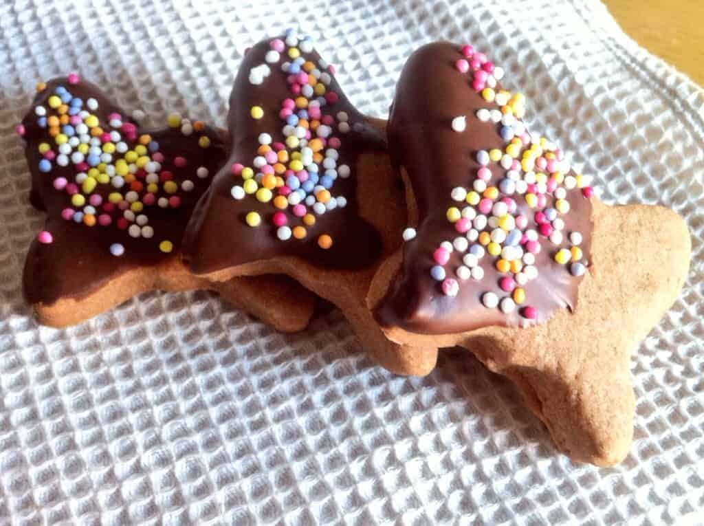 Chocolate milkshake cookies