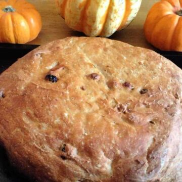 Slow Cooker Pumpkin Apple Bread