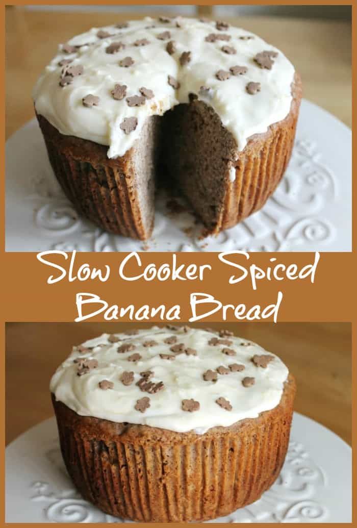 Slow Cooker Spiced Banana Bread