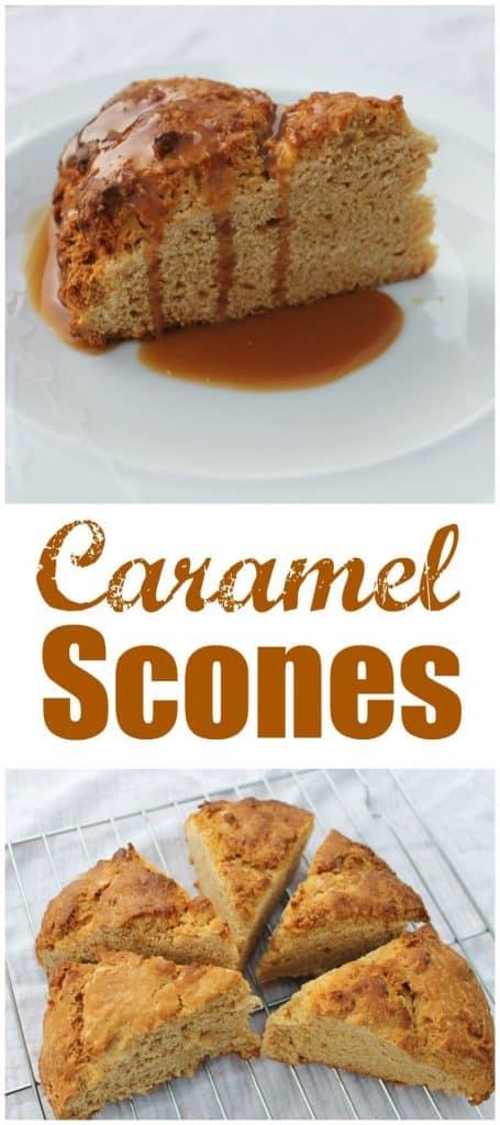 Caramel Scones