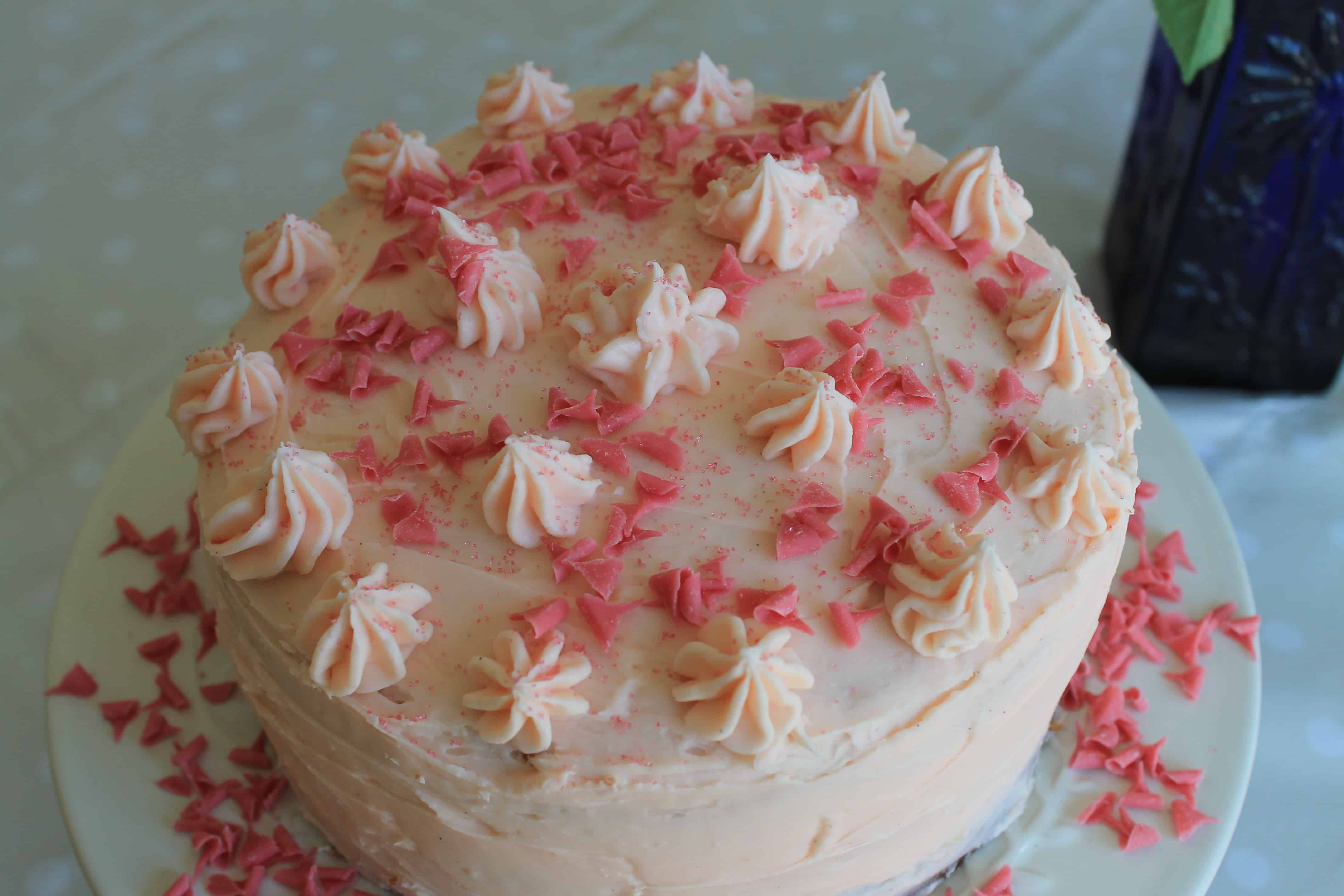 Strawberry Triple Layer Cake Bakingqueen74