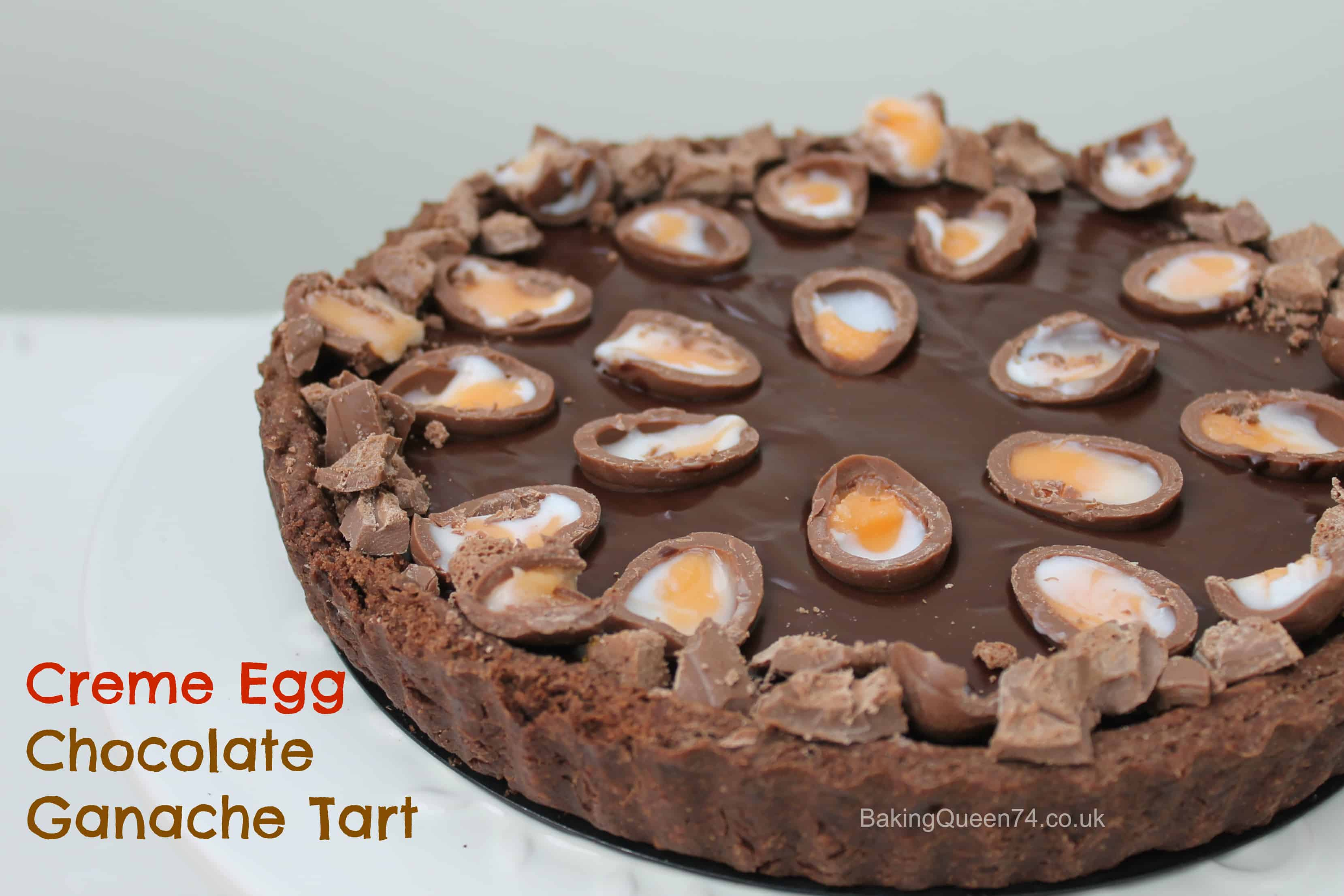 ... Egg Chocolate Ganache Tart this Easter for a rich chocolatey treat