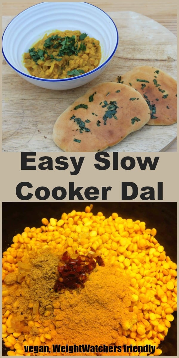Easy slow cooker dal