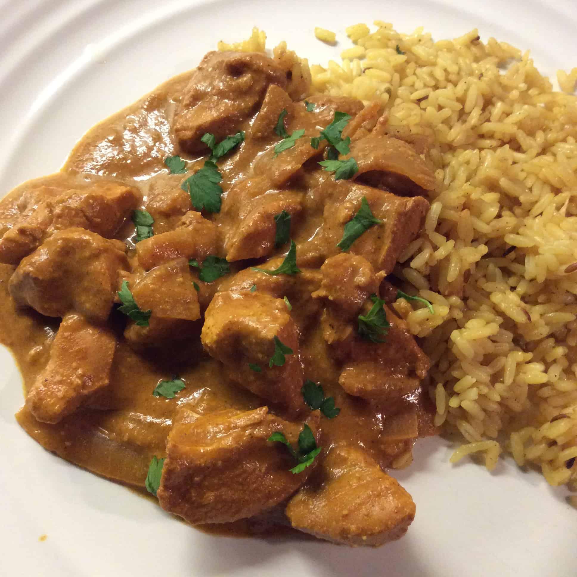 Slow cooker chicken pasanda from Bakingqueen74.co.uk