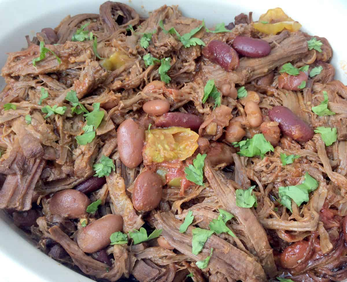 Slow Cooker Yellow Chilli Brisket and The October Slow Cooked Challenge