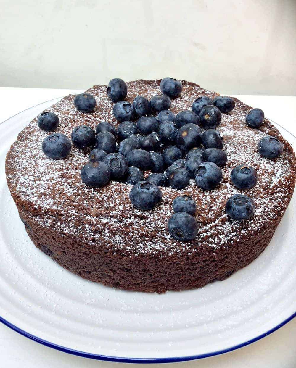Add Blueberries To Chocolate Cake Mix