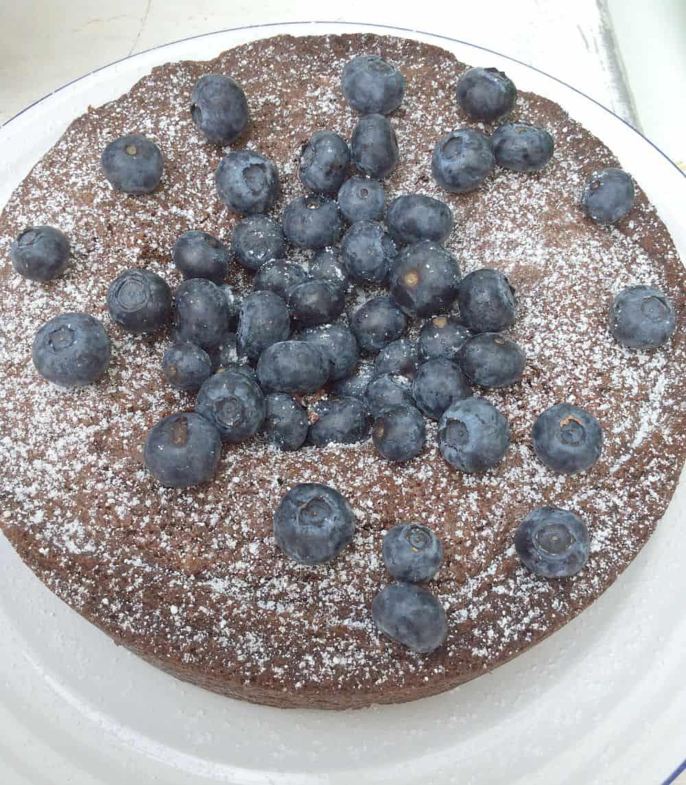 Chocolate Almond Upside Down Cake Ã'Â« Daisys World Picture