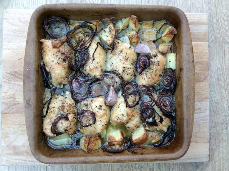 Organic chicken traybake - BakingQueen74