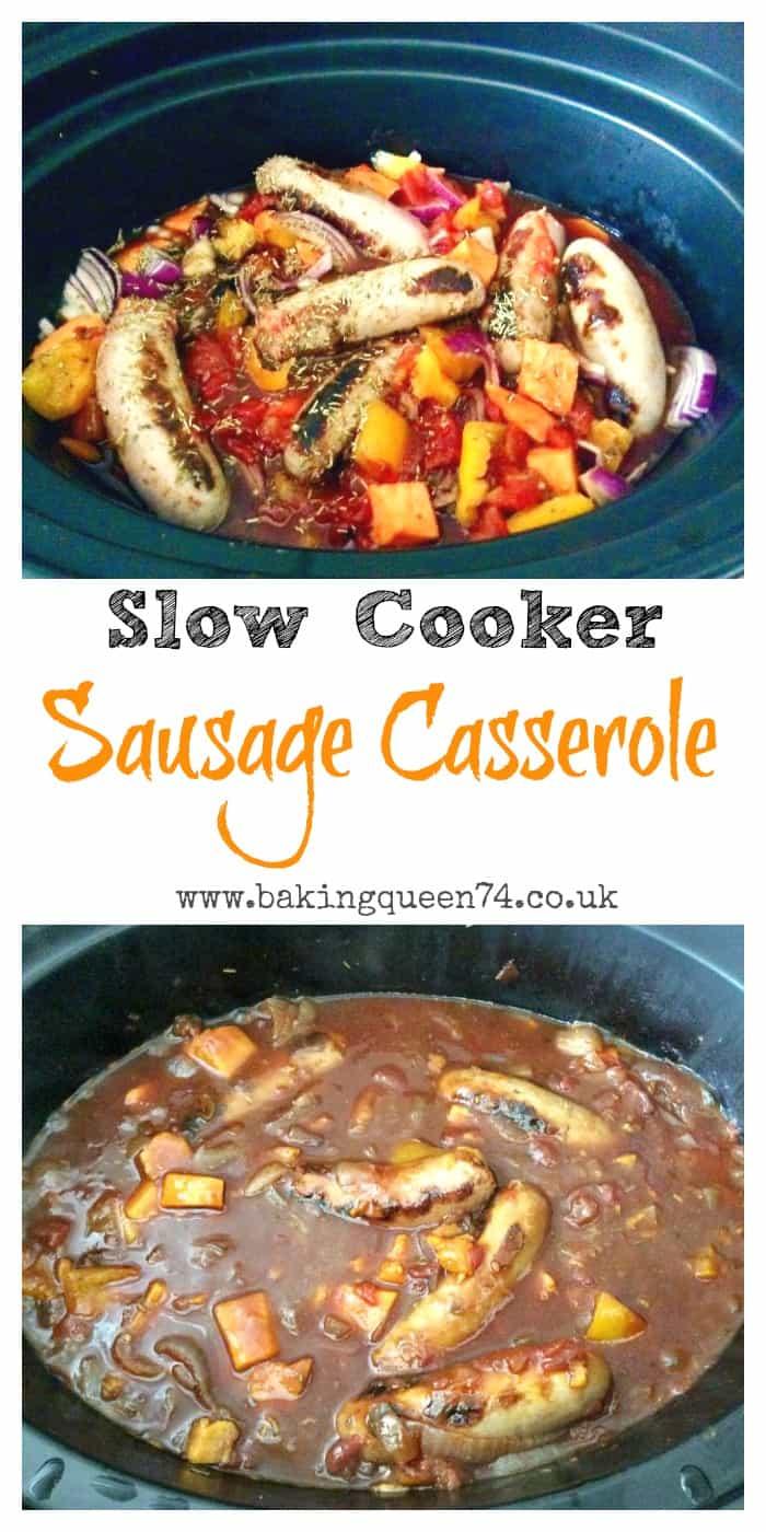 Slow Cooker Sausage Casserole Bakingqueen74