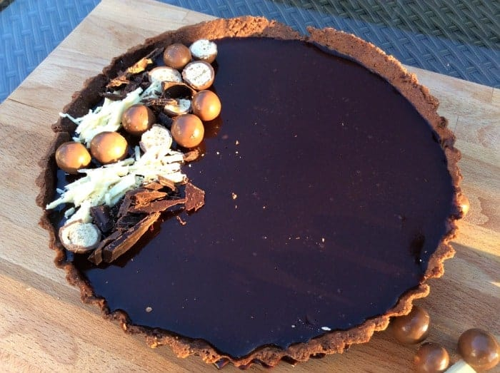 Very Chocolatey Tart - BakingQueen74