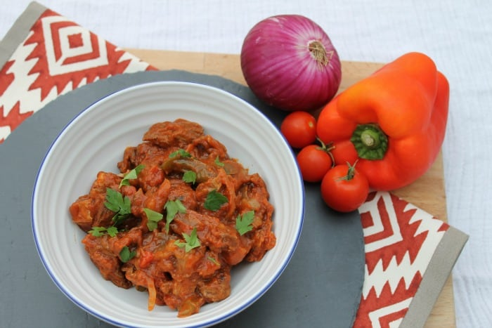 Slow Cooker Beef and Chorizo Stew