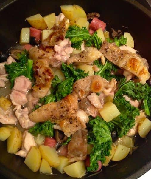 chicken-skin-stew