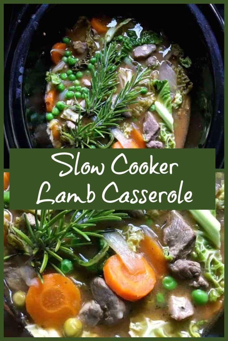 Slow Cooker Lamb Casserole