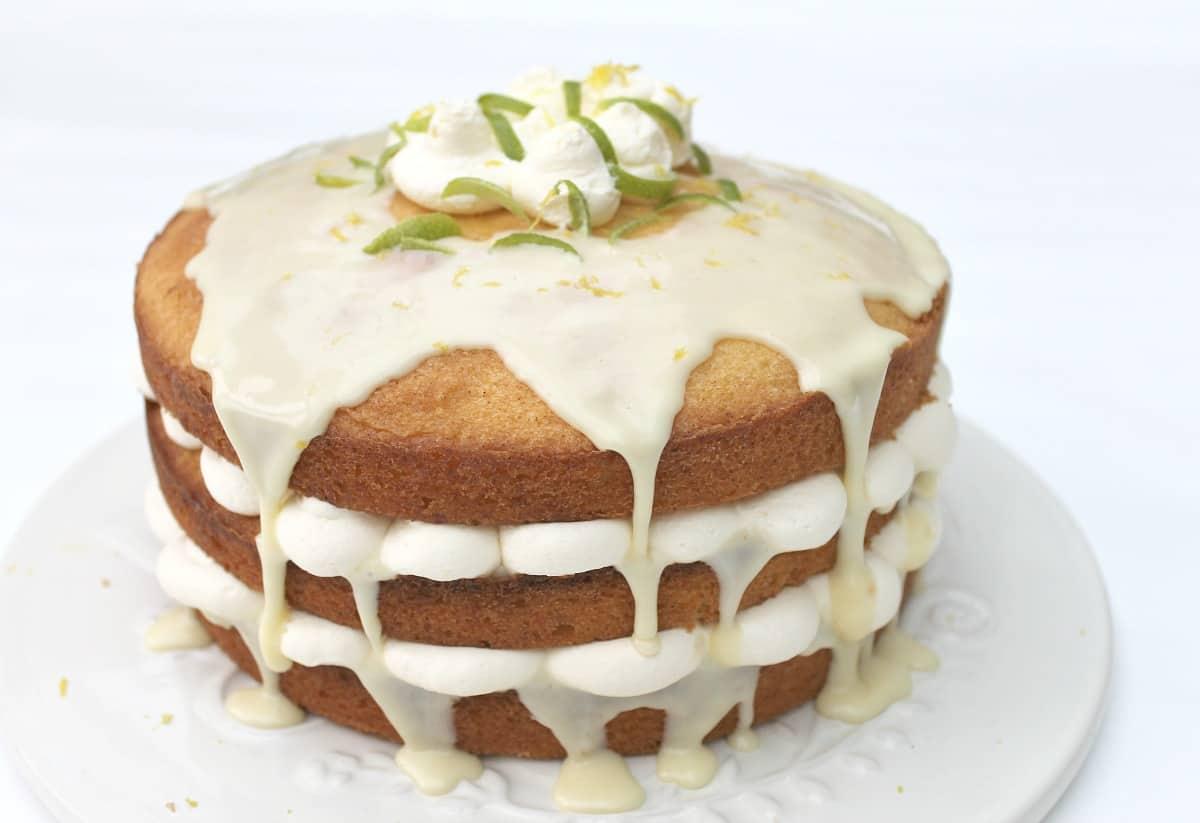 Lemon Drizzle Layer Cake Bakingqueen74
