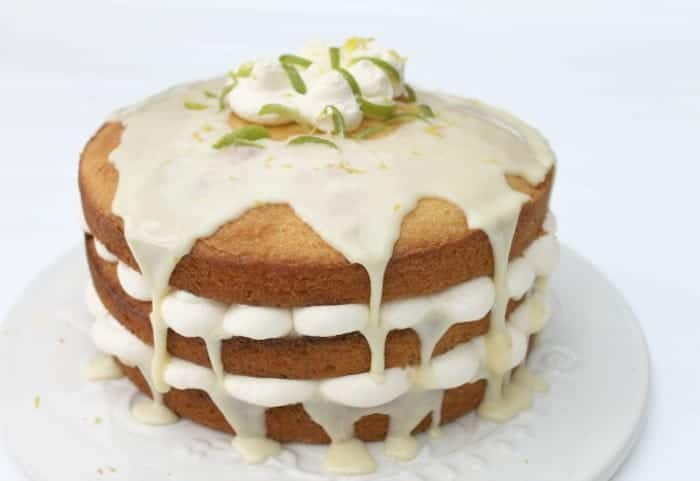 Zingy Lemon Cake
