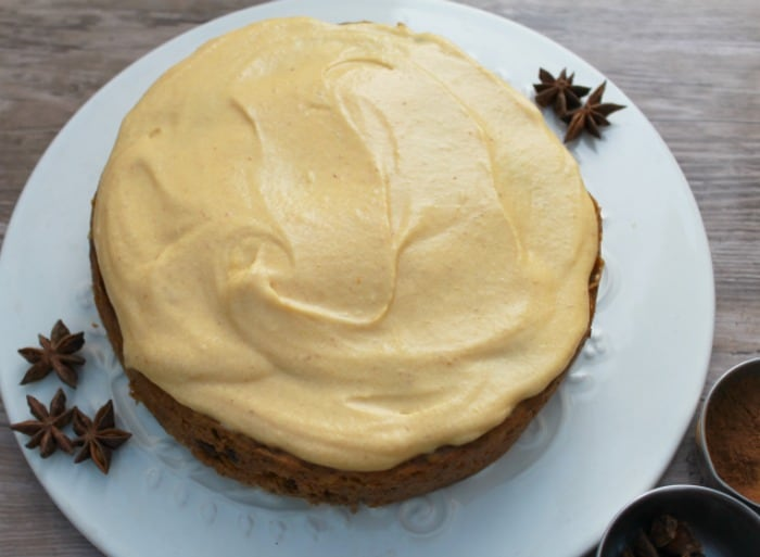 Slow Cooker Spiced Pumpkin Cake from BakingQueen74