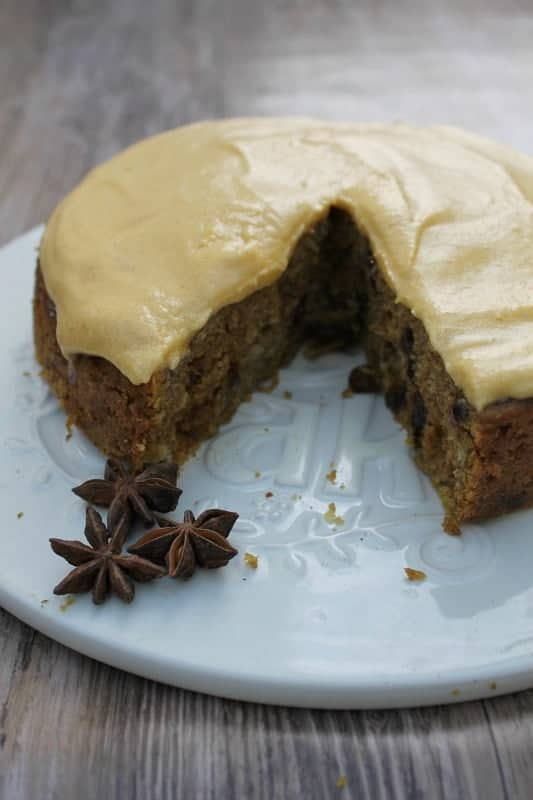 Slow Cooker Spiced Pumpkin Cake from BakingQueen74