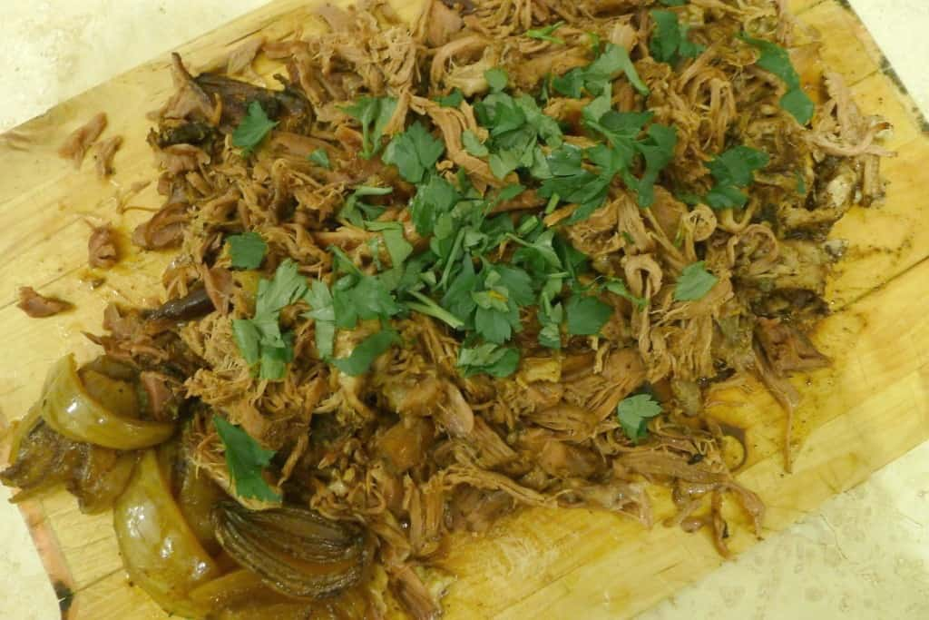 Spiced pulled lamb from Natural Kitchen Adventures
