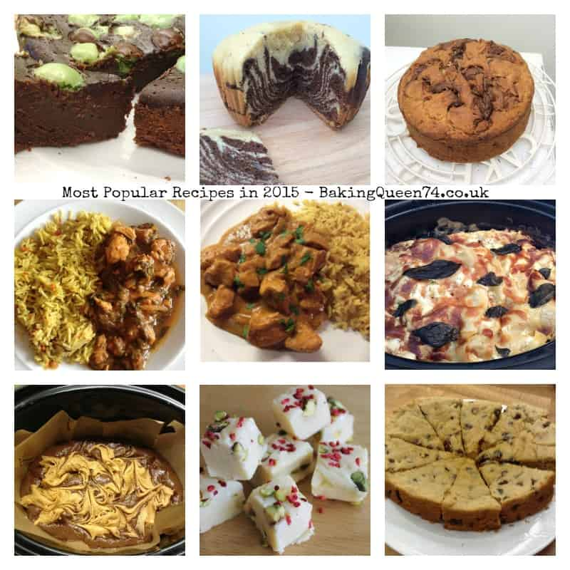 Most popular recipes in 2015 - BakingQueen74