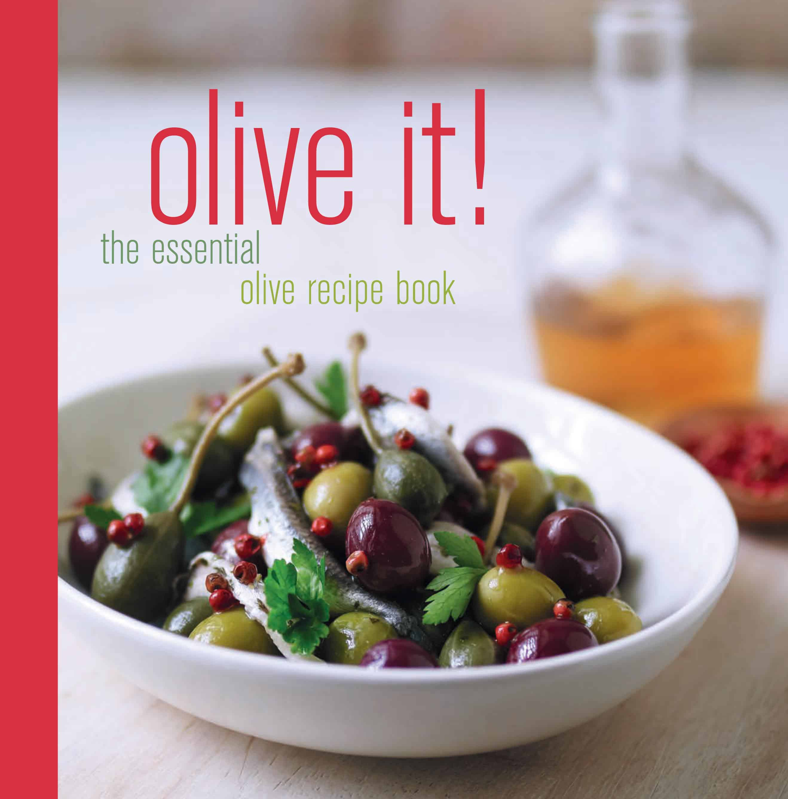 Olive it! recipe book front cover[2]
