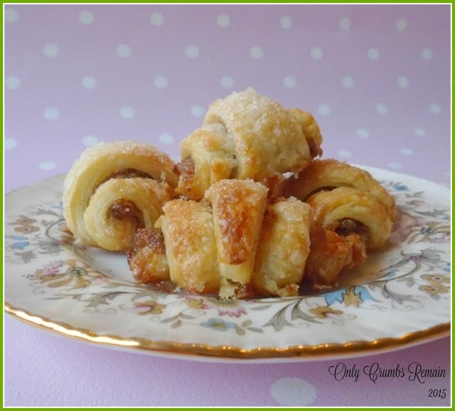 Rugelach with sweet mincemeat from Only Crumbs Remain
