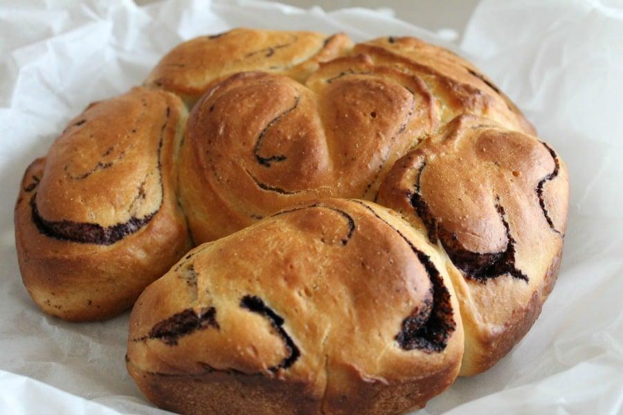 Blueberry Swirl Brioche