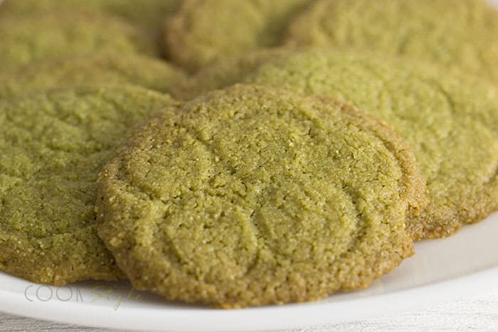 Cookstyle's matcha biscuits