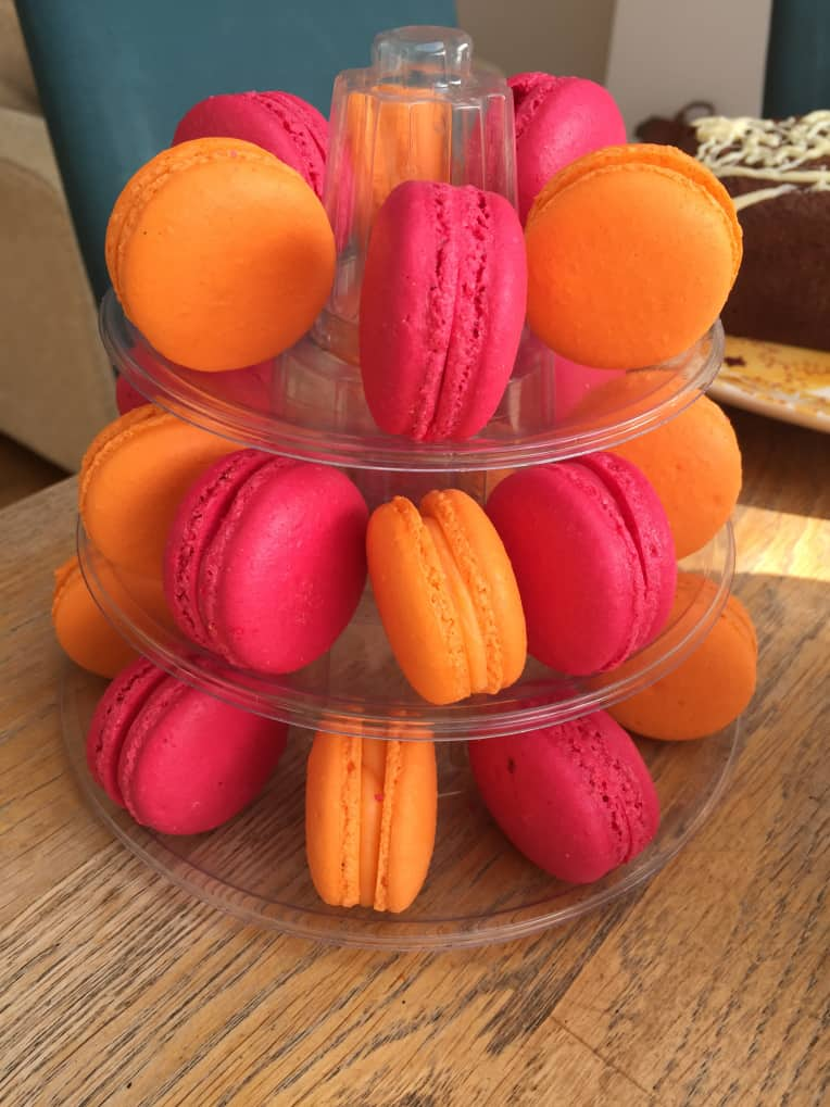Backs Bakes' macarons