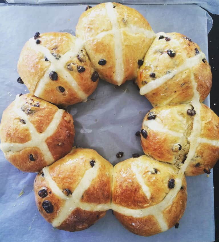 Baked to Imperfection's hot cross buns