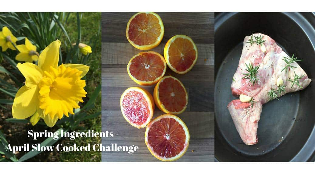 Spring Ingredients – Slow Cooked Challenge