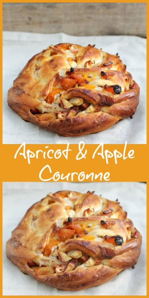 Apricot & Apple Couronne