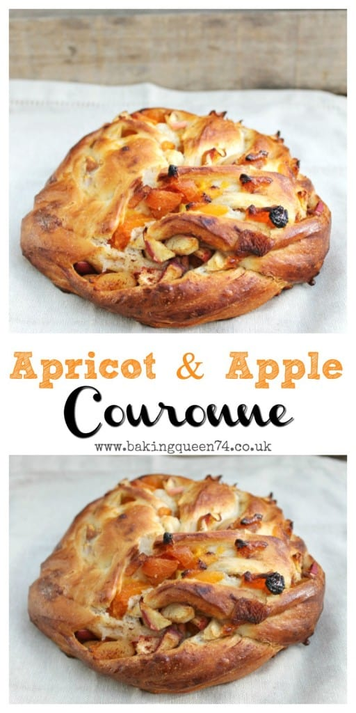 Apricot and Apple Couronne - delicious for a weekend breakfast!