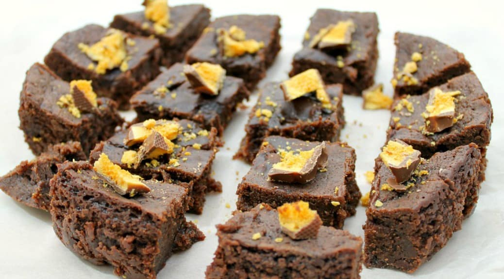 Slow Cooker Crunchie Brownies